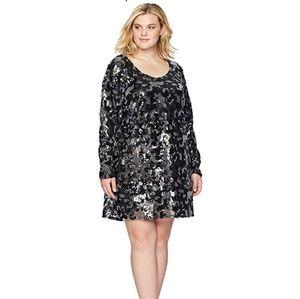 NWT Rebel Wilson X Angels Plus Sz Sequin Dress 2X